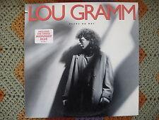 Lou Gramm  Ready Or Not  1987  Vinyl LP  Atlantic Records  81728-1