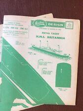 L2 Hobbies Design Plan No 3052 Royal Yacht R M S Britannia