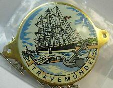 Travemunde Travemünde used badge mount stocknagel hiking medallion G5293