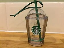 BNIP Starbucks 2016 Frappucino To Go Cup Christmas Tree Decoration/Ornament