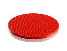 Slipstick Silicone Pot Holder/Trivet 18cm Round Red
