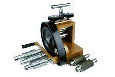 Jewellers Budget Mini Rolling Mill With 7 Rolls 76mm X 43mm Forming J1140
