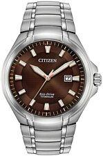 Citizen Eco-Drive Paradigm Men's Super Titanium 43mm Watch BM7431-51X