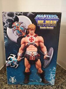 NECA MOTU HE-MAN STATUE FOUR HORSEMEN #322/750 MASTERS OF THE UNIVERSE