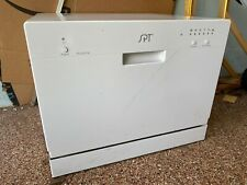 Sunpentown SD-2201W Countertop Dishwasher with Delay Start - White