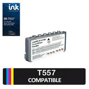 1x Ink Cartridge Unbranded Generic For Epson Printer Picture Mate 500 - T557