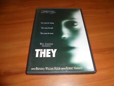 Wes Craven's They (DVD, Widescreen 2003)