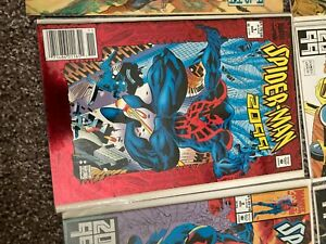 Comic book, Spider-man 2099 1 first key issue november 1992 in plastic