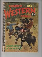 BUMPER WESTERN #21 Colour (Aussie) 1960s - Tomahawk, Red Hawk, Straight Arrow