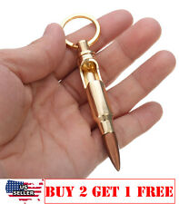 0.308 Cal Bullet Shell Bottle Opener Beer Soda Gold Keychain Key Ring Bar Tool