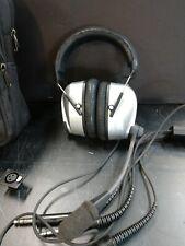 Sennheiser HMEC 400 'Noisegard' Aviation Headset, Case and Accessories