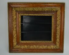 """Victorian Ornate Wood & Gesso Gold Gilt Picture Shadow Frame 30""""X 27""""X3-3/8"""""""