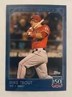 2019 Topps 150 Years of Baseball #3 Mike Trout PR: 2,741 Angels