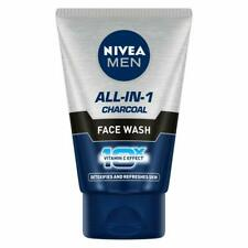 NIVEA Men Face Wash, All-In-One, 10x Vitamin C, Detoxifies And Refreshes 100ml,