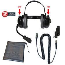 Klein Titan Dual Comm High Noise QD Headset for Kenwood TK and NexEdge Radios