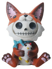 Furry Bones FEN the Red Fox Figurine, Skeleton in Costume, NIB
