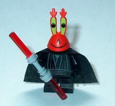 SPONGEBOB #11mk Lego Jedi Series Mr Krabs as Maul custom NEW Genuine Lego Parts