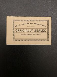 US Stamp Official Seal 1889 LOX11 MNH Mint Never Hinged Rare W/ Original Gum #1