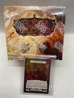 Flesh and Blood TCG Monarch Booster Box 1st Edition SEALED + 2 Foil Cards