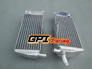 aluminum radiator FOR Honda CR125R CR125 CR 125 R 90-97 91 92 93 94 95 96 1991