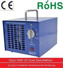 Profi Ozongenerator inkl. UV Lampe 7g 7000mg/h Timer Ozongerät Ozonisator DE NEU