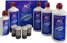 AOSept Plus 4x 360ml Peroxid Pflegemittel Sparpack 1x 90ml GRATIS