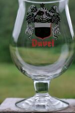 ♣ VERRE DUVEL collector Blazon nineties DUVEL GLASS GLAS collector♣