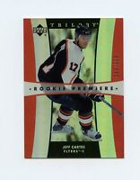 05-06 UPPER DECK TRILOGY ROOKIE RC #207 JEFF CARTER 699/999 FLYERS *60658