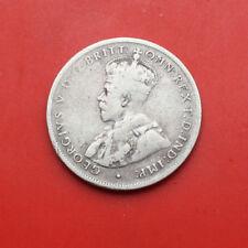 Australia-Australien: 1 Florin-2 Shillings 1925 Silber, #F1610,George V.