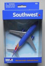 "SOUTHWEST AIRLINES MINIATURE AIRPLANE 5"" WINGSPAN DARON TOYS DIECAST NIB"