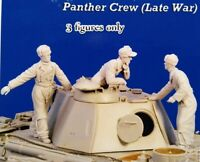 1/35 Resin German Panzer Crew 3 Tankers Late War Unpainted Unbuild BL437