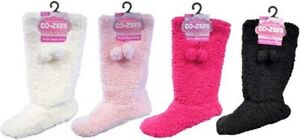 Ladies super soft  Sherpa pom pom boots  Slippers Booties CO-ZEES