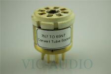 1PC Convert Tube Socket 7n7 Tube(Top) TO 6sn7(Bottom)Tube DIY Adapter Socket