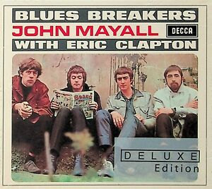 Blues Breakers-John Mayall With Eric Clapton Deluxe Edition 2-CD *NEW (BBC/Live)