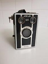 JEM JR 120, J.E.Mergott Co. of Newark, N.J 1940. VINTAGE CAMERA ART DECO!
