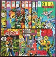2000ad presents #11 to #28 (4 x missing) Quality comics 1987. 14 x Issues.