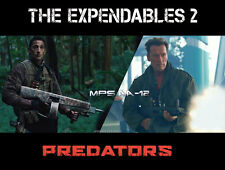 THE EXPENDABLES / PREDATORS Arnold Schwarzenegger / Adrien Brody MPS AA 12