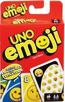 Mattel - Uno Emoji - Family Card Game