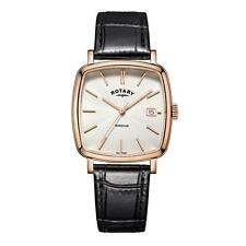 Rotary Gents Rose Gold Plated Cuscino Forma Watch GS05309/01 prezzo £ 110.95