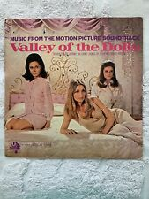 """""""Valley Of The Dolls"""" Original Motion Picture Soundtrack 1967 Vinyl Lp Record"""