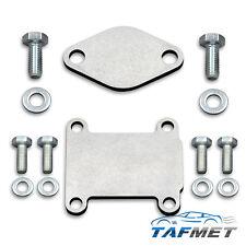 42/1. EGR valve blanking plate for Fiat Alfa JTD Vauxhall Opel CDTI Saab 1.9 16V