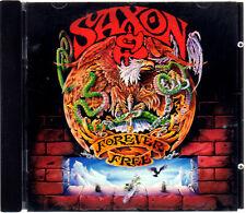 """SAXON """" FOREVER FREE """" CD NUOVO  RARO PRIMA EDIZIONE 1992"""