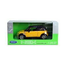 Welly Nex Diecast 1:24 BMW Mini Cooper Yellow - 22075W / 09110