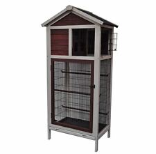 Flight Cage For Birds Aviary Outdoor Large Parakeet Finch Big Bird House Hutch
