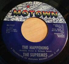 Supremes 45 The Happening / All I Know About You  MOTOWN #1107