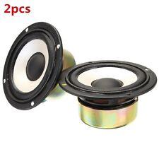 """2pcs 3"""" 4ohm 20W Full Range Audio Speaker High/mediant/Bass Stereo Loudspeaker"""