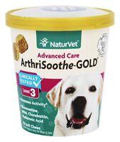 NaturVet - Senior Dog Glucosamine ArthriSoothe-Gold Level 3 - 70 Soft Chews