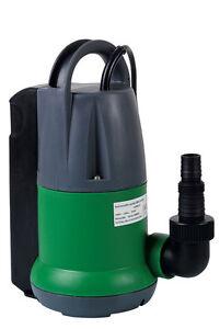 Pompe immergée vide cave 400W avec flotteur intégré 6500 litres / heure