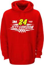 Jeff Gordon 2015 Checkered Flag #24 3M Swoosh Hoodie, NEW SPONSOR, FREE SHIP