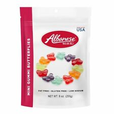 Albanese Mini Gummi Butterflies -  9 Oz Bag - Free Expedited Shipping
